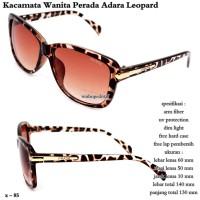 kacamata wanita perada adara leopard fullset