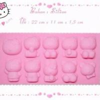 Jual Cetakan Jelly Es batu Puding Hello Kitty HK bento mold ice cube Coklat Murah