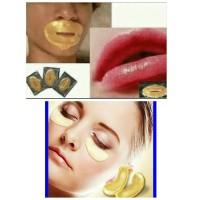 Masker bibir dan Masker mata