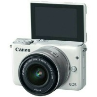 Kamera Mirrorless Canon EOS M10 Lensa 15-45mm Garansi Resmi Datascrip