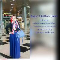 harga Rok Sifon Berkualitas - Rok - Chiffon Skirt Tokopedia.com