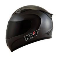 KYT R10 Matt black doff hitam dop M L XL RC10 helm fullface