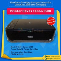 Printer Bekas Canon E500