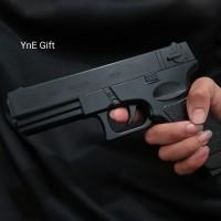Korek Gas Pistol Glock 18, Korek api unik, Mancis murah