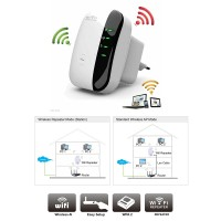 300Mbps Wireless N 802.11N/B/G WPS WiFi Repeater Booster