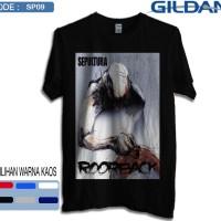 Kaos band sepultura roorback-Kaos musik original gildan softstyle sp09