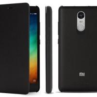 Jual Xiaomi Original Flip Case Cover Redmi Note 3 / Pro - Black Murah