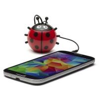 harga Speaker Mini Portable Optimuz Karakter Lady Bird Tokopedia.com