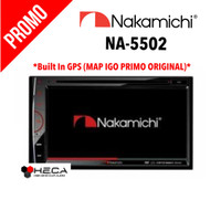 Nakamichi NA-5502 NA5502 NA 5502 + Map Igo Primo Original - Tape Mobil