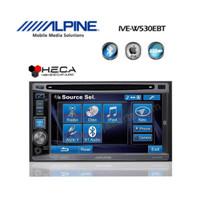 Alpine IVE-W530EBT Head Unit IVE-W530 EBT Double Din Tape Mobil Audio