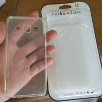 samsung A3 A 3 2015 silicon case casing ultra thin jelly ultrathin acc