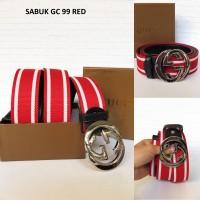 IKAT PINGGANG GC 99 RED (SABUK COWOK MURAH)