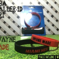 DWYANE WADE #6 NBA BALLER ID ORI BAND BANDS BASKETBALL WRISTBAND NIKE