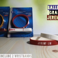 JEREMY LIN #7 NBA BALLER ID GRADUAL GELANG BASKETBALL WRISTBAND