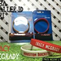 MC GRADY #1 NBA BALLER ID ORI BAND BANDS BASKETBALL WRISTBAND NIKE