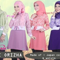 Uslim Tunik Orizha By Florania / /blouse/atasan Muslim