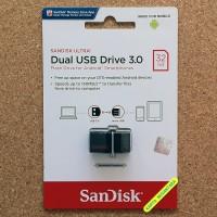 Jual 32GB SanDisk Ultra Dual USB Drive 3.0 Flash Disk OTG Murah