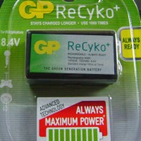 Rechargeable Batteries - GP - 9V battery