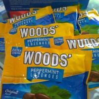 Woods peppermint lozenges isi 6 butir 15 gr