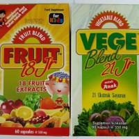Jual paket Fruits&Vege junior isi 60 capsul Murah