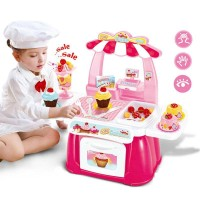 Babymix - Mainan Bayi Anak - Mini Fast Food Shop Pink