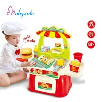 Babymix - Mainan Bayi Anak - Mini Fast Food Shop Red