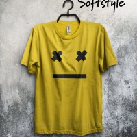 baju pakaian kaos band jepang larc en ciel smile logo