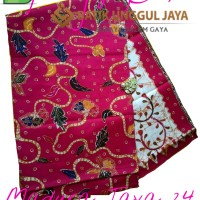 Harga kain batik pekalongan primisima halus madura jaya 24 pink unggul | Hargalu.com