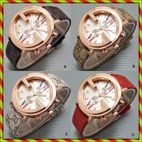 Gucci Logo G Kulit Elegant   Jam Tangan Kw super Murah Rolex Guess