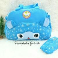 harga Tas Bayi Besar+Tempat Botol Lapis Alumunium Baby Joy Melody Series Tokopedia.com