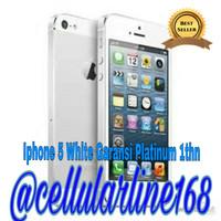 Iphone 5 64gb White/Black Garansi Platinum 1thn