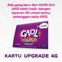 Kartu Perdana UPGRADE 4G AXIS | GANTI 3G Ke 4G Tanpa ke XL Center