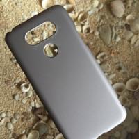 Hardcase Case LG G5 Polos Casing HP Silver Plastik Keras