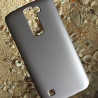 Hardcase Case LG K7 Polos Casing HP Silver Plastik Keras