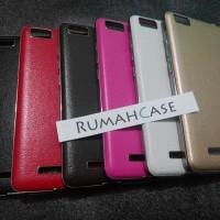 Xiaomi Mi4i Mi4c Backcase Leather Back Cover Case Casing