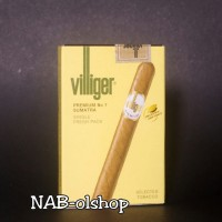 Cerutu Villiger Premium No.7 Made in Swiss