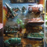 Mainan Anak Tentara Perang set - Pesawat Mobil Tank Tempur set 6666A-2