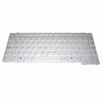 Keyboard Toshiba Satellite A200 A300 M300 (putih)