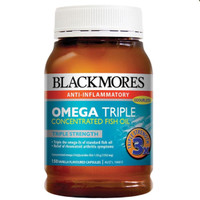 Jual Blackmores Omega Triple Concentrated Odourless Fish Oil 150 capsules Murah