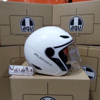 AGV Planet solid Putih