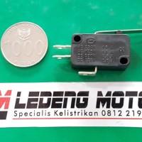 Micro Switch Gagang Lampu Dim Saklar Jauh Dekat MicroSwitch Waterproof