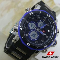 Jam Tangan Pria Sporty Swiss Army Limited Edition Terbaru Murah 3