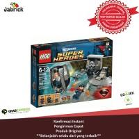 Lego # 76009 Super Heroes - Superman_superman Black Zero Escape