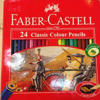 Pencil - Faber Castell - 24 Classic Colours (art no 115854)