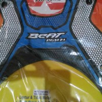 Karpet Motor Matic Honda BEAT PGM F1 Combinasi Warna Silver+Biru New