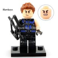 Jual Hawkeye (Clint Barton) 241 Marvel Super Heroes Avengers Lego KW Murah