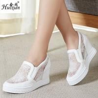 harga Sepatu Wedges Cewek Wanita Korea Putih Modis Casual Murah Tokopedia.com