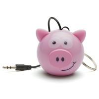 harga OptimuZ Speaker Portable Mini Buddy Made in England Karakter - Pig Tokopedia.com