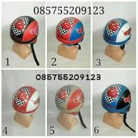 helm anak cars (mobil) retro