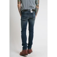Nudie Jeans Tube Tom Blue Nova Biru